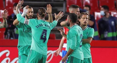 Real Madrid vence al Granada y queda cerca del título de LaLiga