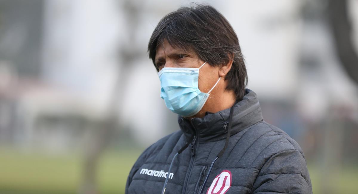Ángel Comizzo se presentó al plantel de la 'U'. Foto: Club Universitario de Deportes