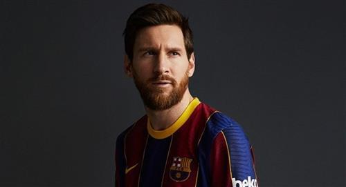 Barcelona presentó su nueva camiseta para la próxima temporada