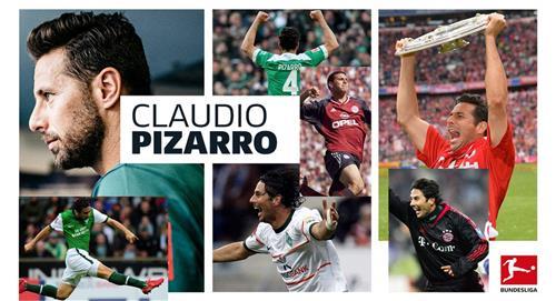 Claudio Pizarro habló de su retiro profesional en la Bundesliga