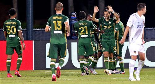 Con Andy Polo, Portland Timbers logró su primera victoria en a MLS