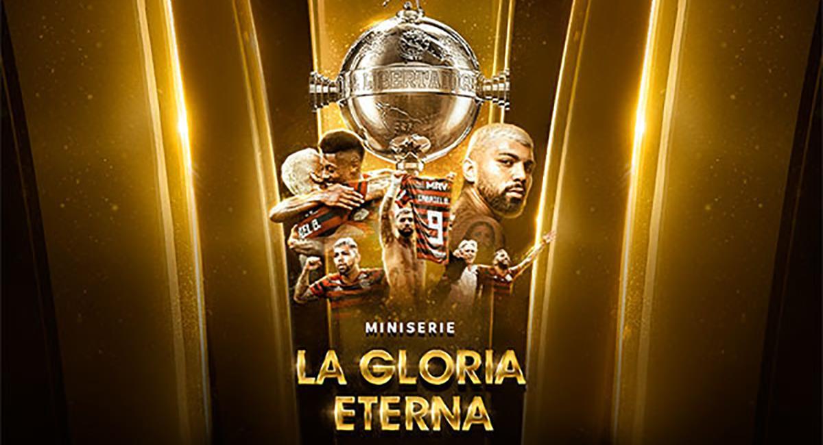 """Conmebol y su miniserie """"La Gloria Eterna"""". Foto: Conmebol Libertadores"""