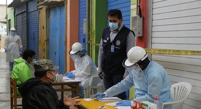 Nueva cifra de infectados en el Perú para este 14 de julio. Foto: Andina