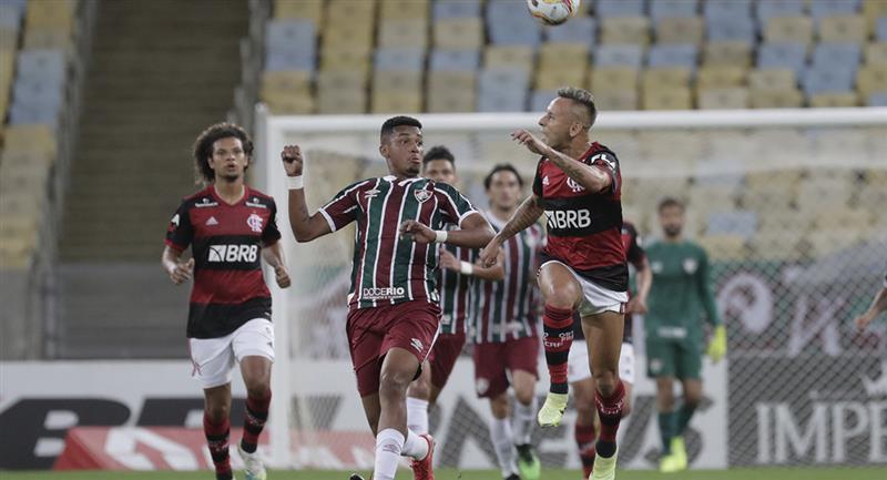 Fluminense cayó en un marcador global de 3-1 ante Flamengo. Foto: EFE