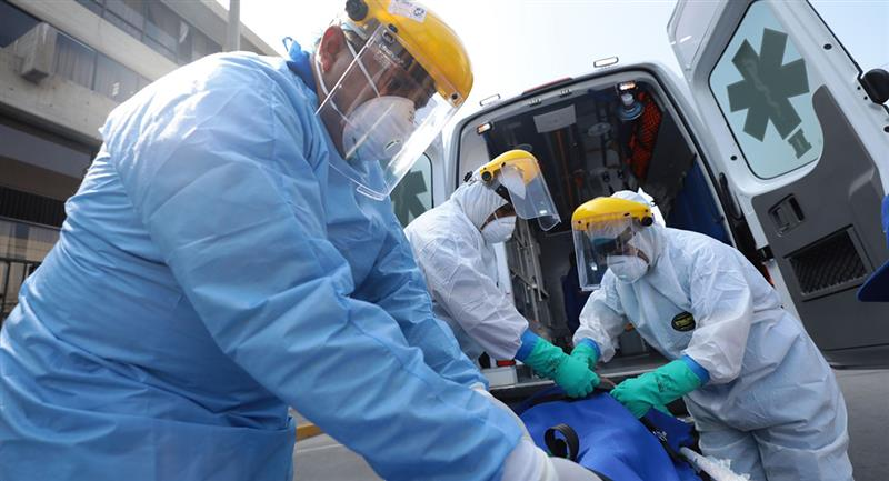 Cifras de infectados en Perú sigue en ascenso. Foto: Andina