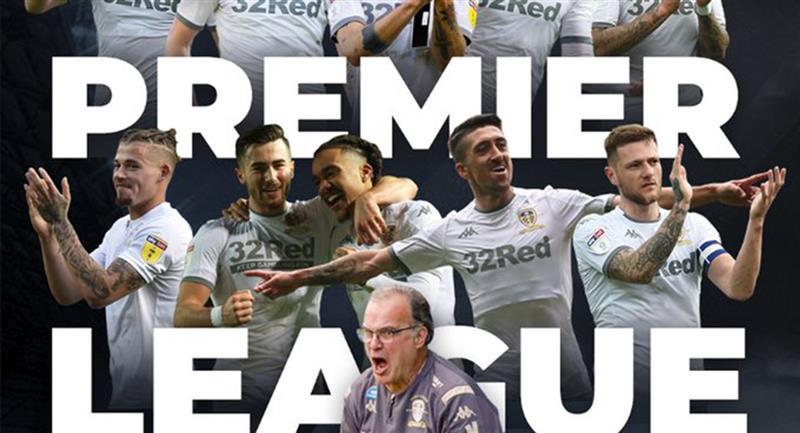 Leeds United se instala en la Premier League. Foto: Twitter Leeds United