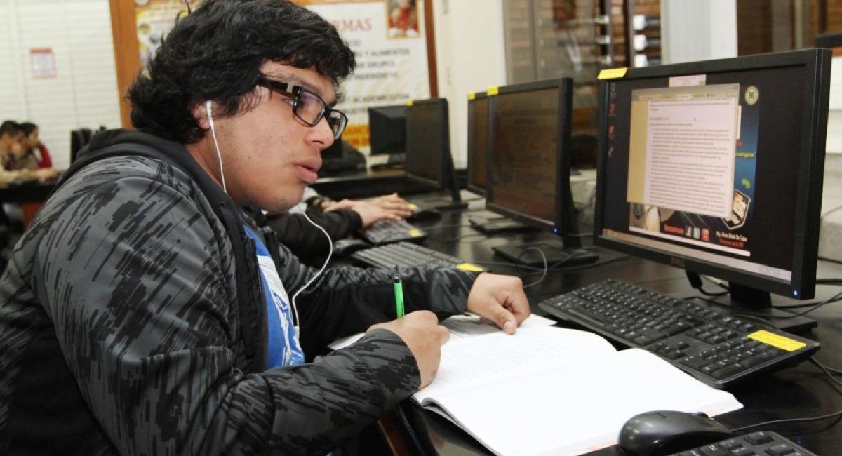 UNMSM organizará primer simulacro virtual de admisión. Foto: Andina