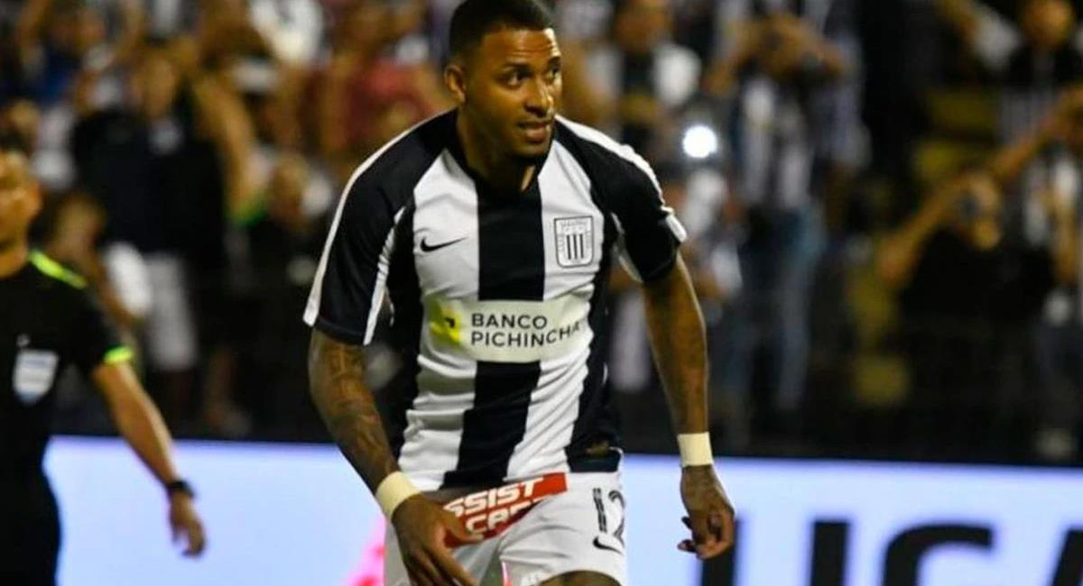 Alexi Gómez llegó esta temporada a Alianza Lima. Foto: Twitter Difusión