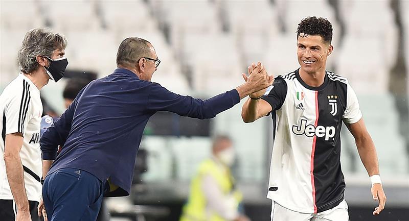 Cristiano Ronaldo cerca de lograr la Bota de Oro. Foto: EFE