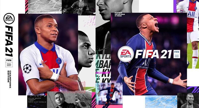 Kylian Mbappé será portada de FIFA 21. Foto: Twitter - @KMbappe