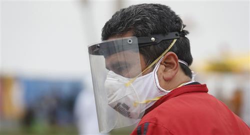 Perú: ¿Cómo desinfectar el protector facial?
