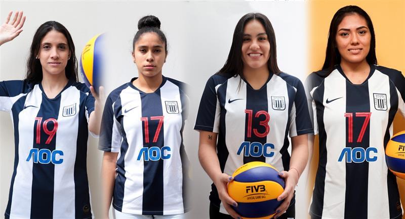 Refuerzos de Alianza Lima en su plantel femenino de vóley. Foto: Club Alianza Lima
