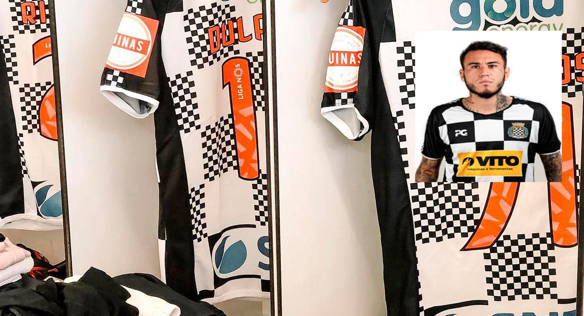 Dulanto terminó su primera temporada en Portugal. Foto: Facebook Boavista Futebol Clube