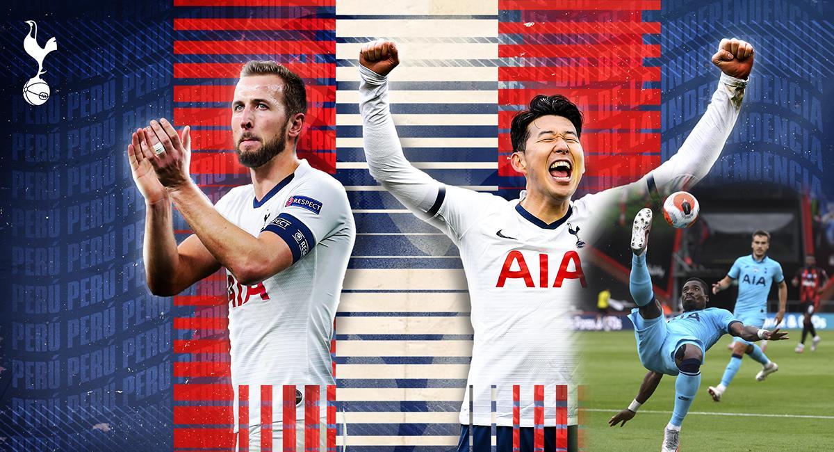 """Tottenham no deja dudas de que esta jugada impresionante se llama """"chalaca"""". Foto: Twitter Tottenham Hotspurs @Spurs_ES"""