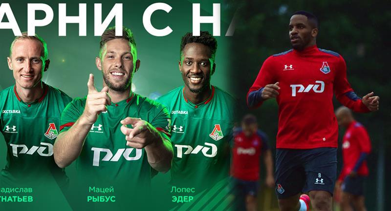 Jefferson Farfán no figura en la lista de renovados de Lokomotiv. Foto: Twitter Club Lokomotiv Moscú
