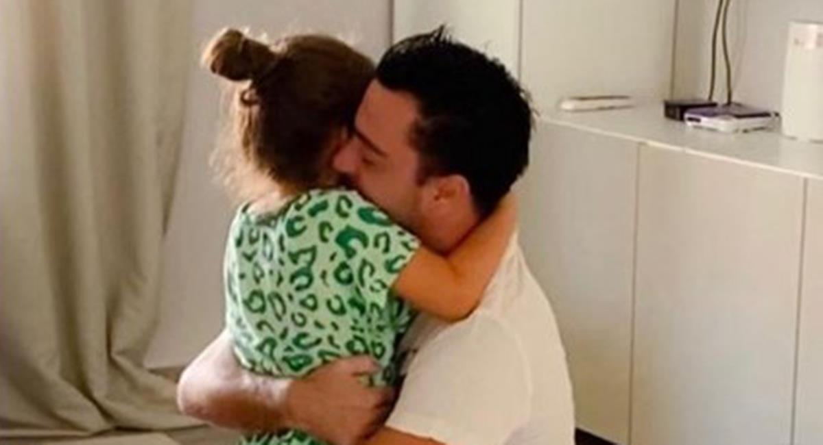 Xavi Hernández le ganó la lucha al coronavirus. Foto: Instagram Xavi  Hernández