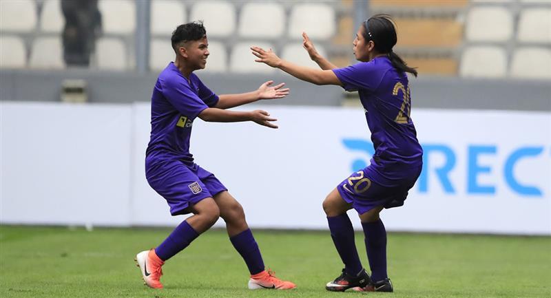 Alianza Lima presentó hace poco las redes sociales de su equipo femenino. Foto: Andina