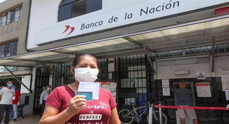 Nuevo Bono de 760 soles ayudará a más de 2 millones y medio de familias. Foto: Andina