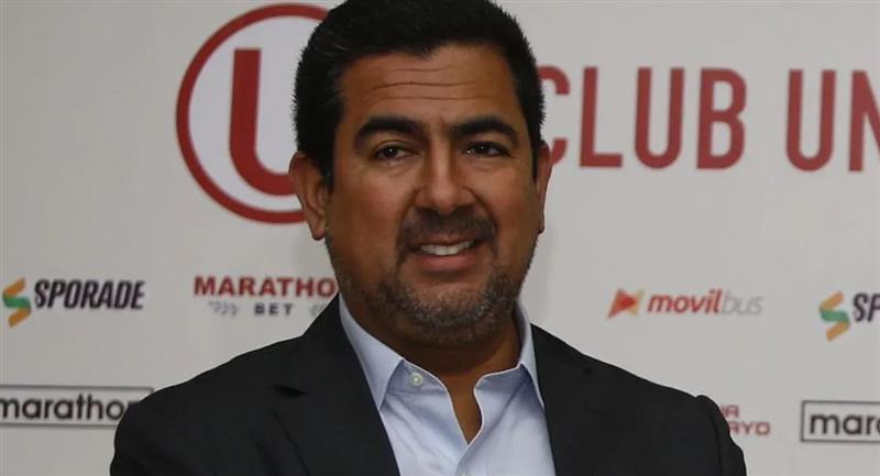 Carlos Moreno no podrá ejercer cargos deportivos dos meses. Foto: Twitter Difusión