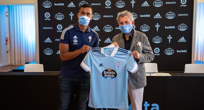 Renato Tapia usará la dorsal número 14. Foto: Club Celta de Vigo