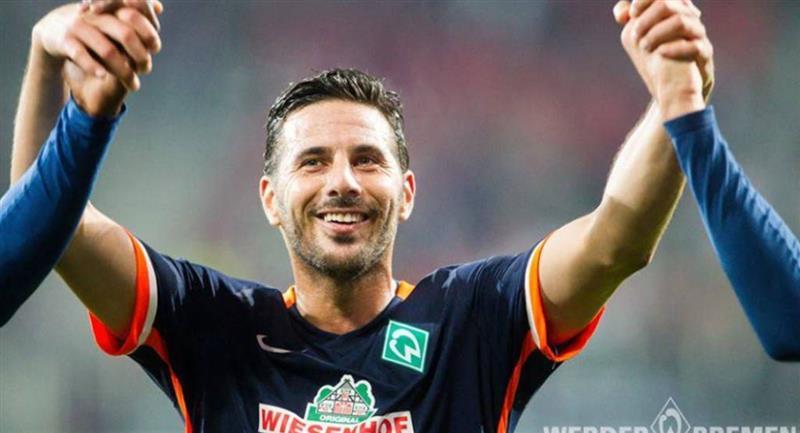 Claudio Pizarro llegó al fútbol de Alemania en 1999. Foto: Andina Werder Bremen
