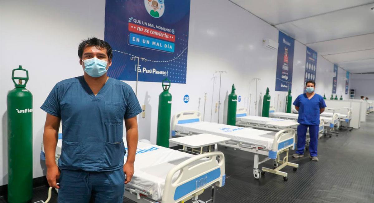 Nuevo Hospital Itinerante en Moquegua. Foto: Twitter @MindefPeru