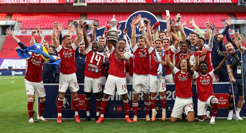 Arsenal se consagró campeón de la FA Cup. Foto: EFE