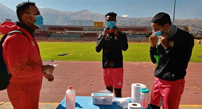 Sport Huancayo presenta casos positivos de COVID-19. Foto: Twitter Club Sport Huancayo