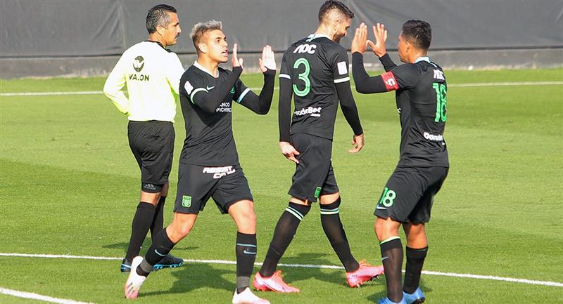 Alianza Lima igualó 1-1 ante Municipal en un amistoso. Foto: Twitter Club Alianza Lima