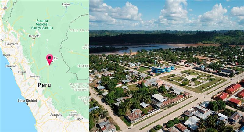 Curimaná se despertó con un temblor de 4.1. Foto: Facebook Municipalidad distrital de Curimaná
