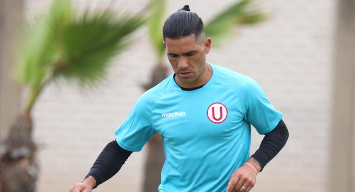Jonathan Dos Santos es el goleador en Universitario. Foto: Twitter Universitario