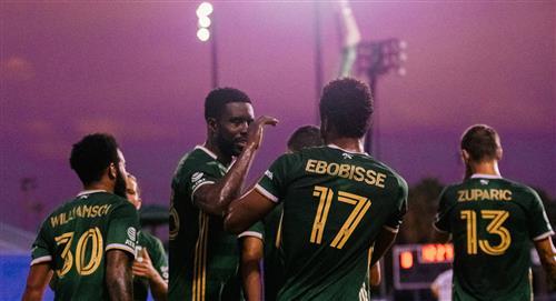 Con Andy Polo, Portland Timbers venció 2-1 a Philadelphia Union y se metió a la gran final de la MLS Back Tournament