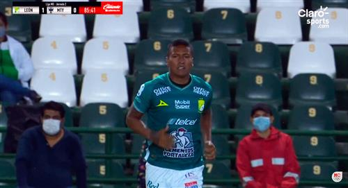 Triunfazo de León con Pedro Aquino en la cancha ante Monterrey por el Torneo Guard1anes 2020