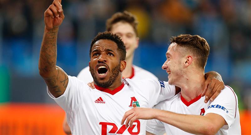 Jefferson Farfán se despide de Lokomotiv con 25 goles en 69 encuentros. Foto: Andina