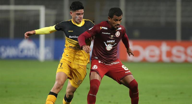 Cantolao y Universitario no se hicieron daño en el Nacional. Foto: Twitter Liga de Fútbol Profesional