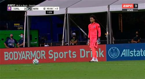 Pedro Gallese y Orlando City a la final de la MLS Back Tournament