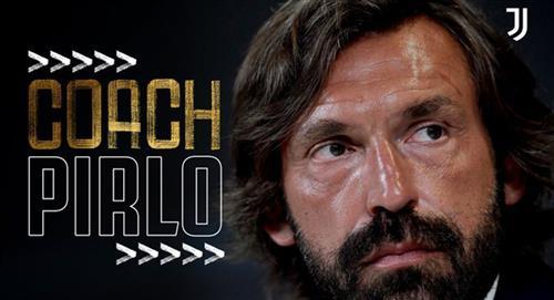 Andrea Pirlo se convirtió en nuevo técnico de la Juventus
