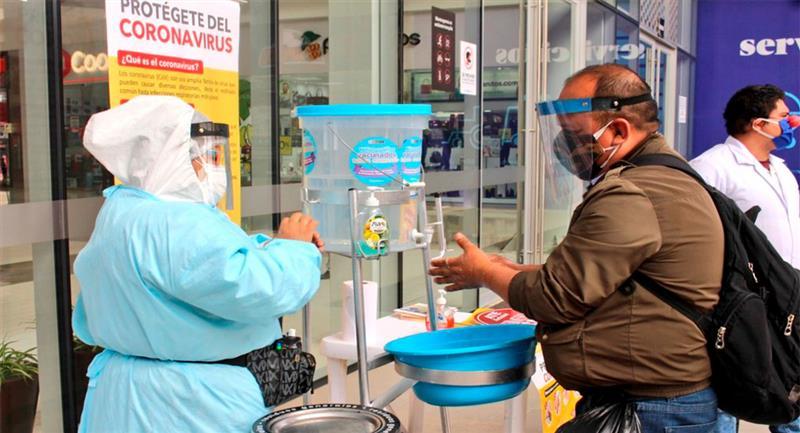 Los casos de coronavirus siguen en aumento en Perú. Foto: Twitter @Minsa_Peru