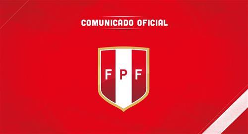 FPF se pronunció mediante un comunicado ante la suspensión de la fecha 7 de la Liga 1