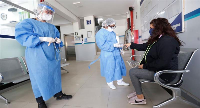 La pandemia sigue causando estragos en Perú. Foto: Andina / @MuniLima