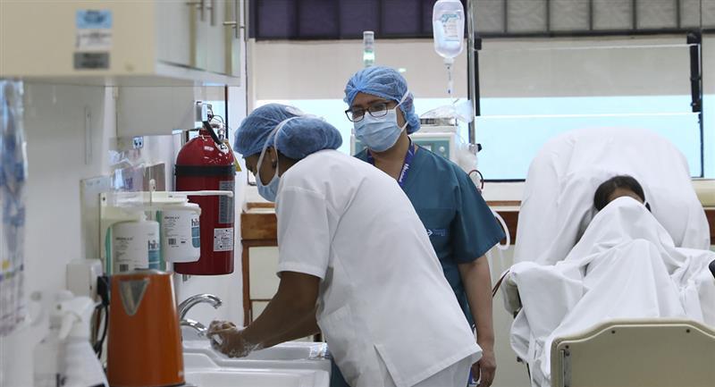 Los casos por COVID-19 siguen en aumento en Perú. Foto: Andina