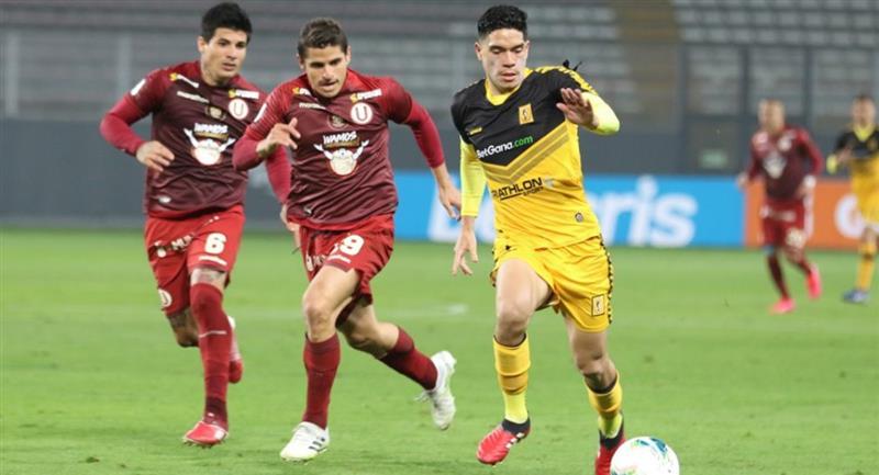 Liga 1 fue suspendida en su fecha 7 del Torneo Apertura. Foto: Twitter Liga de Fútbol Profesional