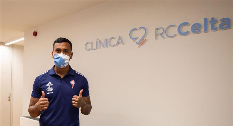 Renato Tapia llegó al Celta de Vigo para esta temporada. Foto: Twitter Celta de Vigo