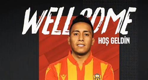 Christian Cueva es nuevo jugador del Yeni Malatyaspor de Turquía
