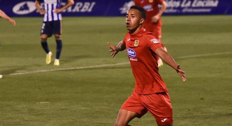 Jeisson Martínez terminó contrato con Fuenlabrada. Foto: Instagram @jeisson.9