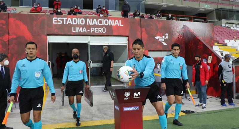Liga 1 busca volver lo más pronto posible. Foto: Twitter Liga de Fútbol Profesional