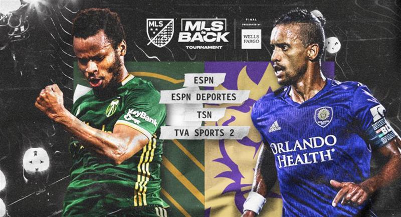 Portland Timbers y Orlando City definirán la final de la MLS Back. Foto: Twitter @OrlandoCitySC