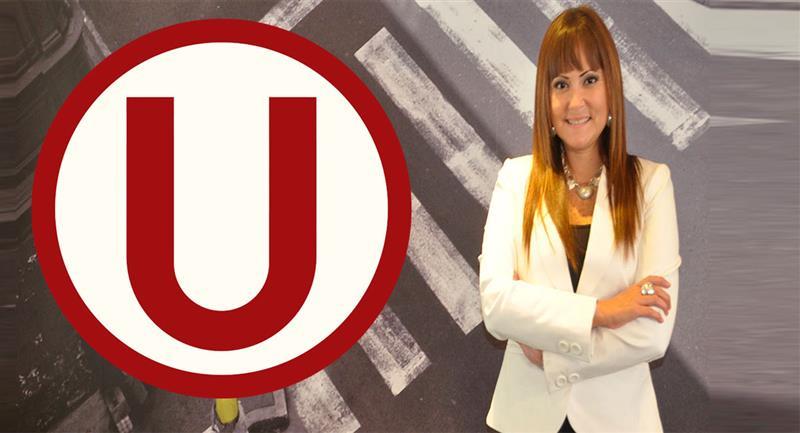 Sonia Alva, la nueva administradora de Universitario de Deportes. Foto: Sitio Web Alva Legal