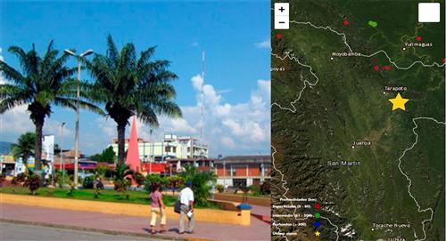 Temblor de 3.9 de magnitud sacude San Martín