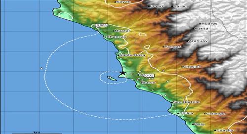 Temblor de 3.9 de magnitud sacude Lima